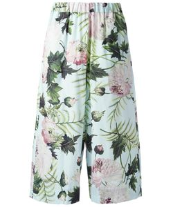 Antonio Marras | Botanical Print Trousers 0 Cotton