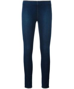 Love Moschino | Cropped Super Skinny Jeans 44 Cotton/Polyamide/Spandex/Elastane