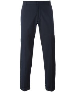 Jil Sander | Cuffed Trousers 48 Cotton/Spandex/Elastane