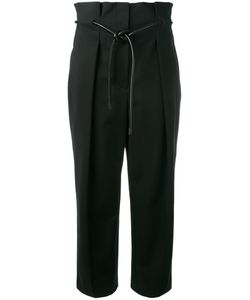 3.1 Phillip Lim | Origami Pleat Trousers 8 Cotton/Polyamide/Spandex/Elastane/Polyurethane