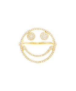 ROSA DE LA CRUZ | Diamond Smiley Ring 7