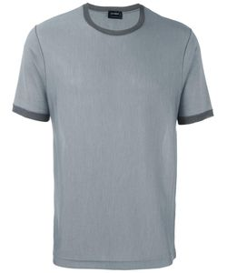 Jil Sander | Contrast Crew Neck T-Shirt 48 Virgin