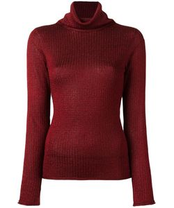 Alice + Olivia | Turtle Neck Jumper Small Acetate/Polyester/Nylon
