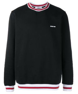 Givenchy | Stripe-Trim Logo Sweatshirt Medium Polyester/Wool