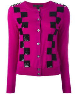 Marc Jacobs | Classic Checkered Cardigan Large Wool