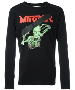 OFF-WHITE | Mirror Skull T-Shirt Medium Cotton