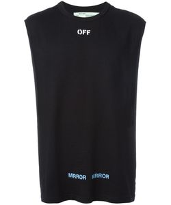 OFF-WHITE | Care Off T-Shirt Small Cotton