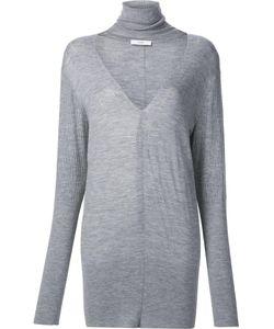 TOME | Deep V Turtleneck Sweater Medium Merino
