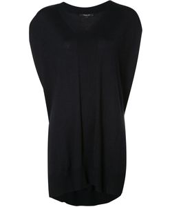 Derek Lam | Side Split Knit Top Medium Silk/Cashmere