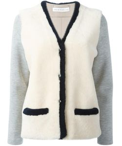 INÈS & MARÉCHAL | Ines Marechal Aston Cardigan 40 Lamb Skin/Polyester/Viscose/Polyurethane