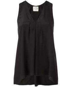 Forte Forte | Pleated Detailing Sleeveless Blouse I Silk