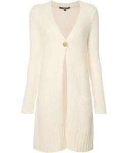 Derek Lam | One Button Cardigan Large Silk/Cashmere