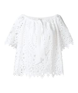 Temperley London | Berry Lace Top 8 Polyester/Spandex/Elastane