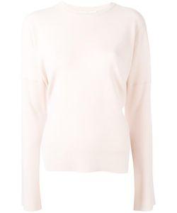 Tibi   Slit Sleeved Knitted Blouse Small Merino