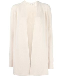 Helmut Lang | Open Front Cardigan Medium Cotton/Cashmere