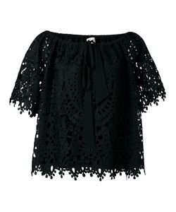 Temperley London | Berry Lace Top 12 Polyester