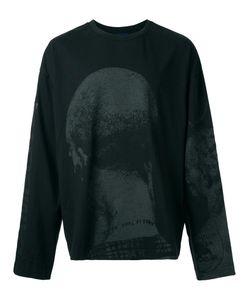 JUUN.J | Head Print Sweatshirt Medium Cotton/Rayon