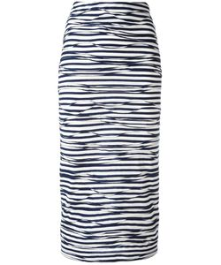 Antonio Marras | Striped Skirt 40 Polyester/Viscose