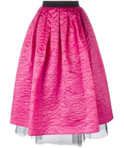 Marc Jacobs | Crinkle Taffeta Full Skirt 2 Silk/Nylon