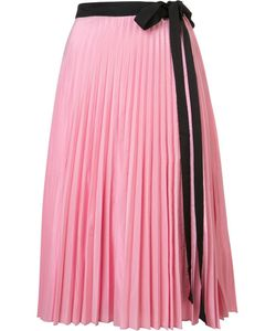 TOME | Pleated Wrap Skirt Small Polyester