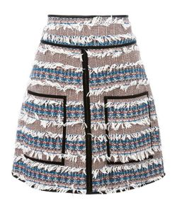 See By Chloe | See By Chloé Tweed Fringed Skirt 42 Cotton/Acrylic/Polyamide/Other Fibers
