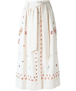 Temperley London | Juniper Skirt 8 Viscose/Polyester