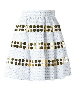 JOURDEN | Gathered Skirt 36 Polyester/Polyamide/Cotton Fibre