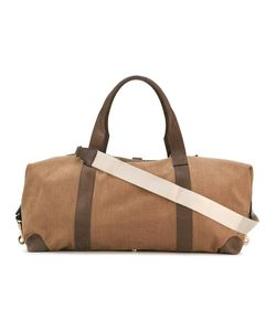Loro Piana | Large Weekend Bag Cotton/Leather