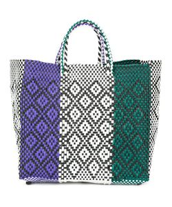 Truss Nyc | Woven Tote Plastic
