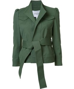 Derek Lam 10 Crosby | Stand Collar Belted Jacket Cotton/Other