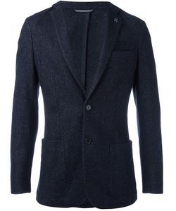 Michael Kors | Button Front Blazer 40 Cotton/Polyester/Viscose/Polyimide