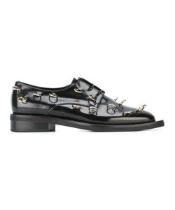 Coliac | Piercing Embellished Derby Shoes 40 Leather/Rubber/Metal