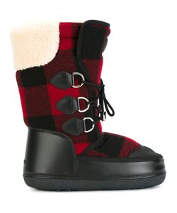 Dsquared2 | Ski Snow Boots 42 Calf Leather/Elastodiene/Polyester/Virgin Wool