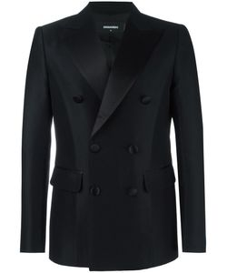 Dsquared2 | Napoli Tuxedo Jacket 48 Wool/Silk/Polyester/Cotton