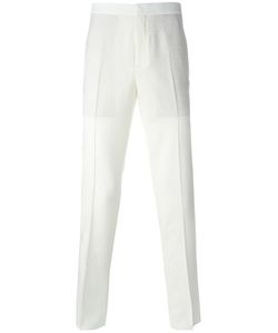 Neil Barrett | Tailored Twill Trousers 50 Virgin Wool/Spandex/Elastane/Polyester/Cotton