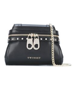 Twin-set | Zip Detail Shoulder Bag Leather
