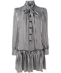 Marc Jacobs | Striped Shirt Dress 6 Cupro