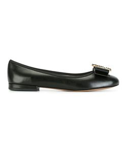 Marc Jacobs | Interlock Ballerina Flats 36.5 Calf Leather/Leather/Metal