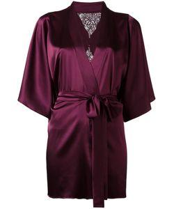 Fleur of England | Silk Robe S/M Silk/Polyester/Spandex/Elastane
