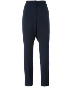Armani Collezioni | Straight Trousers 48 Polyester/Polyamide/Rubber/Virgin Wool