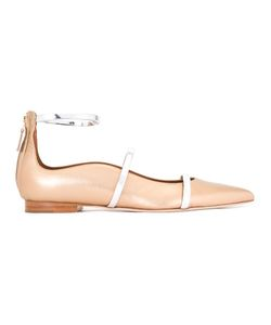 MALONE SOULIERS | Robyn Flats Ballerinas 37 Nappa Leather/Leather