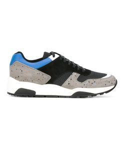 Z Zegna | Lace-Up Running Sneakers 5 Calf Leather/Nylon/Rubber