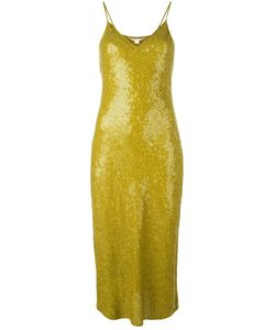 Diane Von Furstenberg | Sequinned Fitted Dress 6 Silk/Polyester
