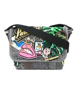 Marc Jacobs   Small Paradise Courier Bag Cotton