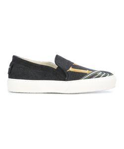 Joshua Sanders   Slip On Sneakers Adult Unisex 37 Cotton/Rubber