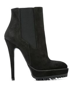 SEBASTIAN MILANO | Ankle Boots 40 Suede/Leather/Rubber