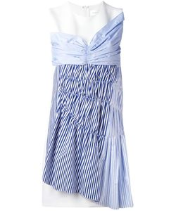 Victoria, Victoria Beckham | Victoria Victoria Beckham Striped Panel Shift Dress 10
