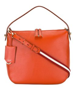 Bally | Striped Strap Shoulder Bag Calf Leather