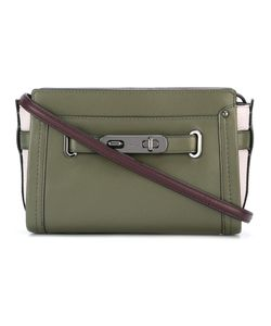 COACH | Detachable Strap Crossbody Bag Leather