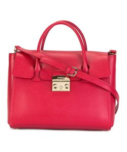 Furla | Flap Closure Tote Leather